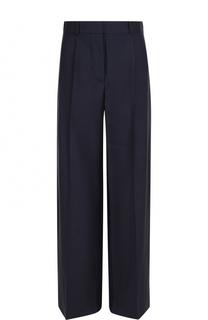Широкие брюки с защипами и карманами Victoria Beckham
