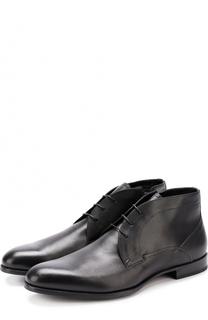 Кожаные ботинки с внутренней меховой отделкой Barrett