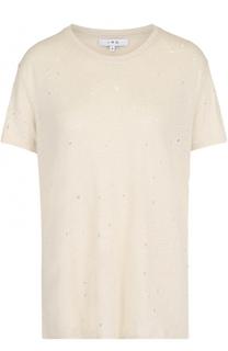 Льняная футболка с круглым вырезом Iro