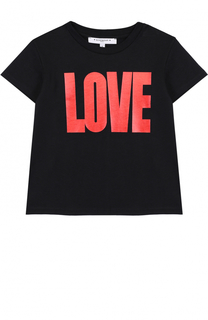 Трикотажная футболка с принтом Givenchy