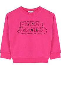 Хлопковый свитшот с принтом Marc Jacobs