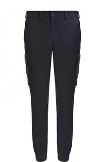 Хлопковые брюки карго с манжетами на резинке Polo Ralph Lauren