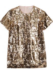 Мини-платье с пайетками Chloé