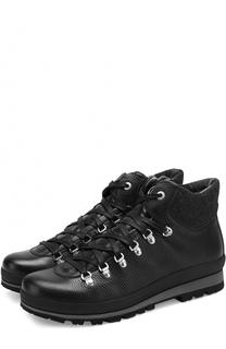 Кожаные ботинки на шнуровке Bogner