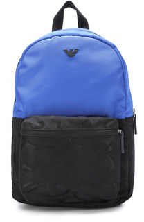 Рюкзак с логотипом бренда Armani Junior