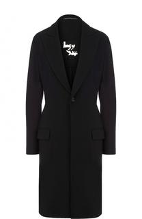 Приталенное шерстяное пальто Yohji Yamamoto