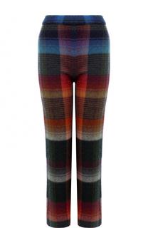 Укороченные расклешенные брюки с принтом Missoni