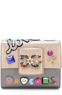 Сумка DG Millennials с аппликациями Dolce & Gabbana