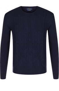 Джемпер фактурной вязки из смеси шерсти и кашемира Polo Ralph Lauren
