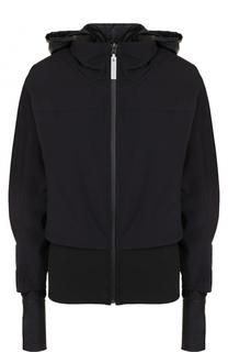 Спортивная куртка на молнии с капюшоном Adidas by Stella McCartney