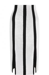 Юбка-карандаш с разрезами Diane Von Furstenberg