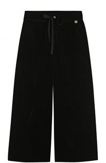 Расклешенные брюки из вискозы Simonetta