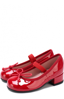 Лаковые туфли с бантами Pretty Ballerinas