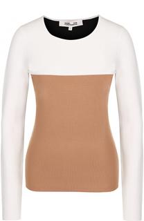 Вязаный пуловер с круглым вырезом Diane Von Furstenberg