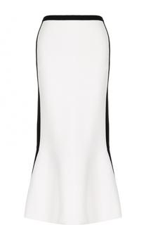 Вязаная удлиненная юбка-годе Diane Von Furstenberg