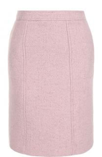 Однотонная шерстяная мини-юбка Paul&Joe Paul&Joe