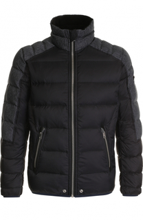 Утепленная куртка на молнии с воротником-стойкой Diesel