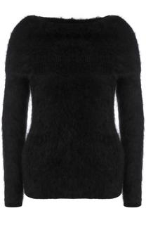 Однотонный пуловер с открытыми плечами Tom Ford