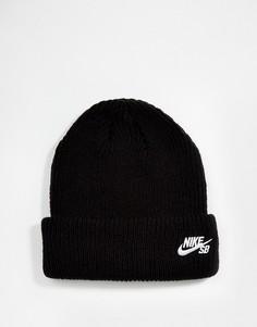 Шапка-бини Nike SB Fisherman 628684-011 - Черный