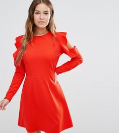Приталенное платье ASOS PETITE - Красный