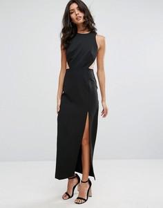 Платье макси River Island Chrissi - Черный