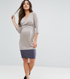 Платье Mamalicious Maternity Nursing - Бежевый Mama.Licious