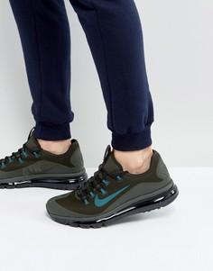 Зеленые кроссовки Nike Air Max More 898013-300 - Зеленый