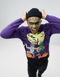 Джемпер с изображением монстра ASOS Halloween - Мульти