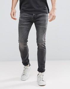 Серые джинсы скинни AllSaints - Серый