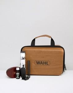 Подарочный набор с заряжаемым триммером для бороды и аксессуарами Wahl - Мульти