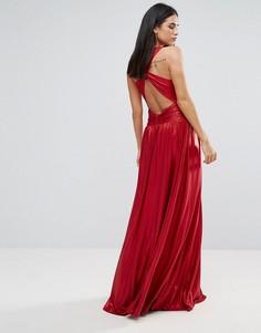 Платье макси Forever Unique - Красный