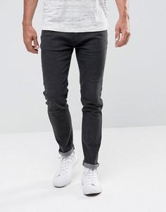 Выбеленные черные джинсы скинни Bellfield - Черный