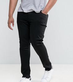 Черные зауженные джинсы River Island PLUS - Черный