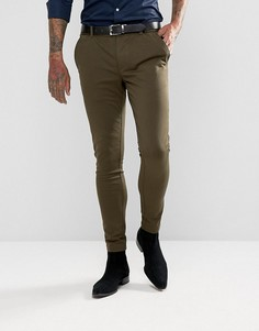 Облегающие брюки Devils Advocate - Зеленый
