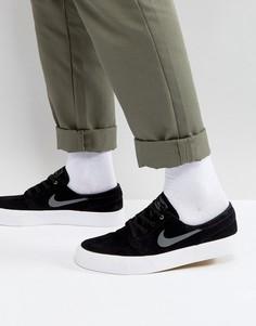 Черные кроссовки Nike SB Zoom Janoski HT 854321-007 - Черный
