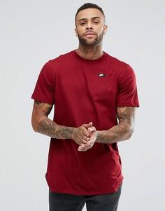 Красная длинная футболка Nike Modern 873239-677 - Красный