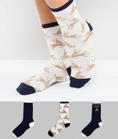 Носки с новогодней отделкой Chelsea Peers - Мульти