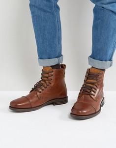 Коричневые кожаные ботинки Levis Emmerson - Коричневый Levis®