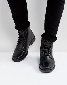 Черные кожаные ботинки Levis Emmerson - Черный Levis®