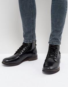 Черные кожаные ботинки Levis Baldwin - Черный Levis®