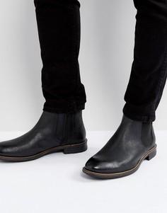 Черные кожаные ботинки челси Levis Huntington - Черный Levis®