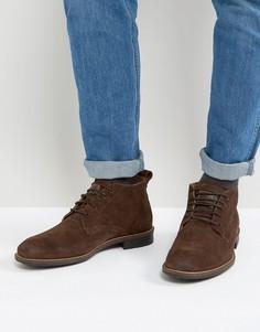 Коричневые замшевые ботинки Levis Huntington - Коричневый Levis®