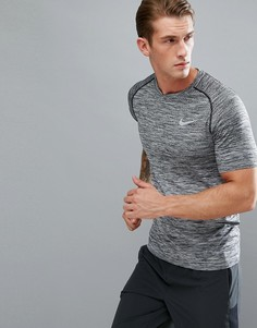 Черная футболка Nike Running Dri-FIT 833562-010 - Черный