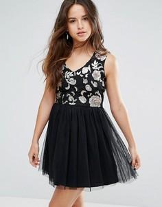 Платье с тюлевой юбкой Louche Maykaylee - Черный