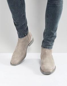 Серые замшевые ботинки челси ALDO Vianello - Серый