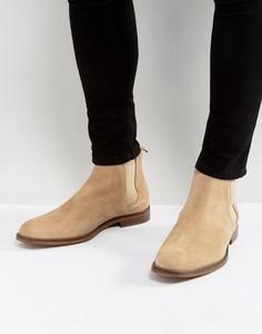 Светло-серые замшевые ботинки челси ALDO Vianello - Светло-бежевый