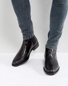 Черные кожаные ботинки челси ALDO Vianello - Черный
