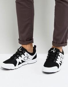 Кроссовки для бега с логотипом Calvin Klein Murphy - Черный