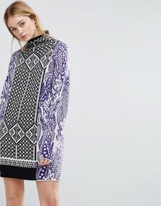 Трикотажное платье Sportmax Code Starna - Белый