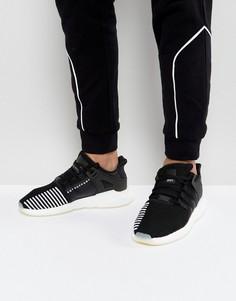 Черные кроссовки adidas Originals EQT Support 93/17 BZ0585 - Черный